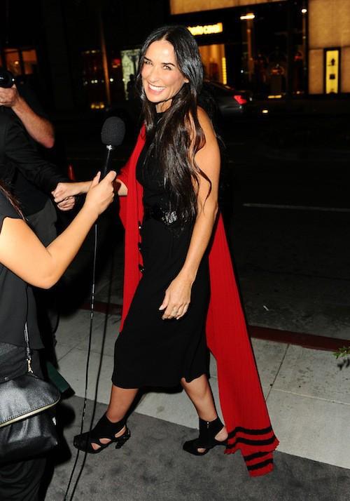Demi Moore à Los Angeles, le 9 septembre 2015