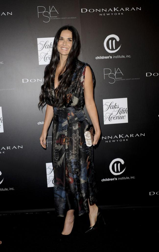 Demi Moore à la PSLA Autumn Party organisée à Los Angeles le mercredi 8 octobre 2014