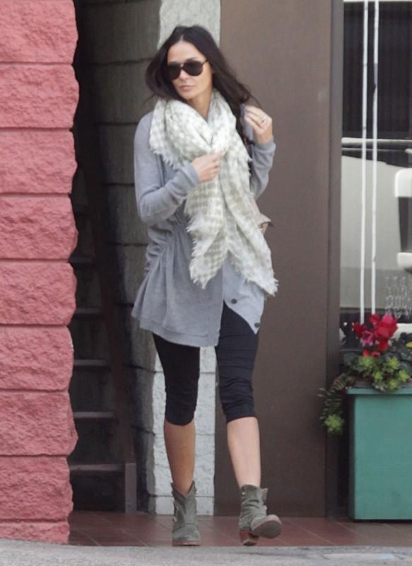 Demi Moore le 22 janvier 2013 à Los Angeles