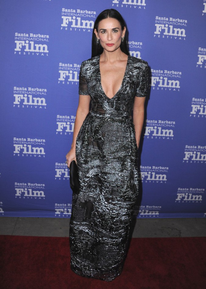 Demi Moore le 16 novembre 2014