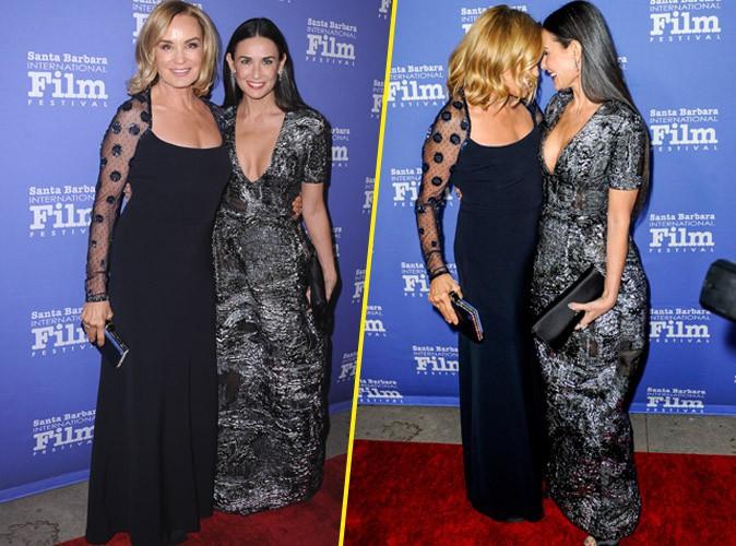 Jessica Lange et Demi Moore le 16 novembre 2014