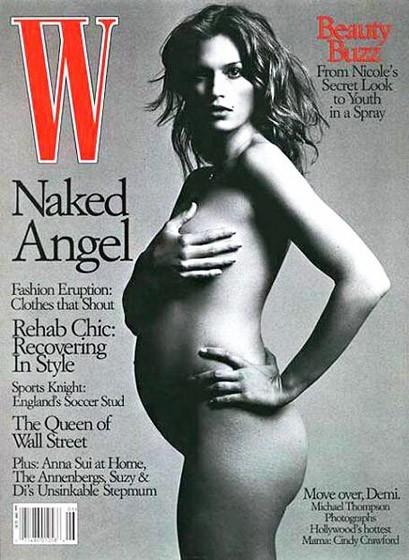 Cindy Crawford, attitude de top en toutes circonstances....
