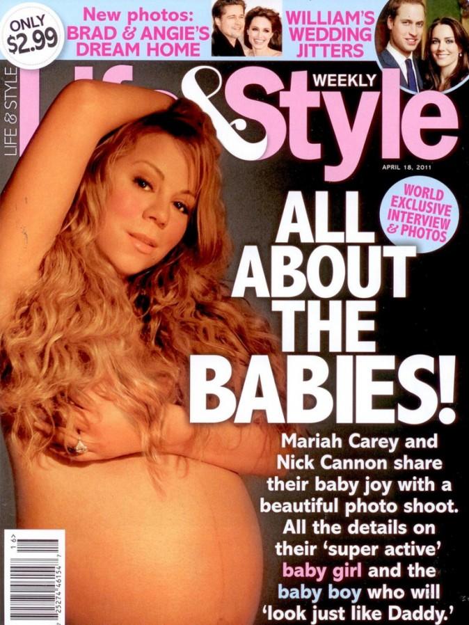 Mariah Carey, enceinte de ses jumeaux...