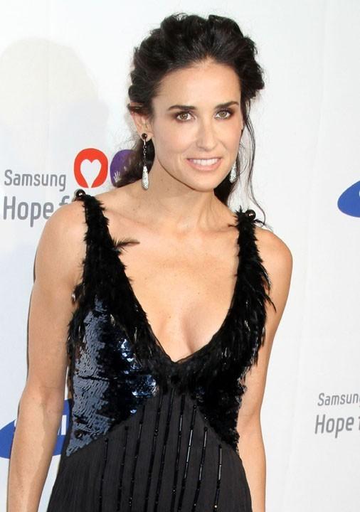 Demi Moore lors du Samsung Hope for Children Gala à New York, le 7 juin 2011.