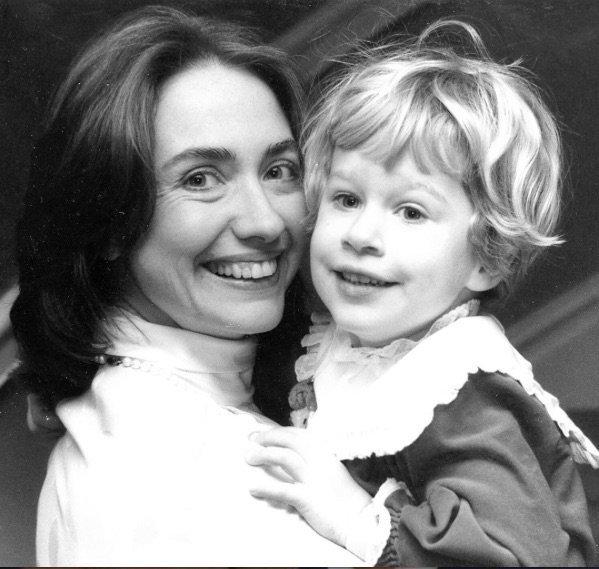 Hilary Clinton et sa fille
