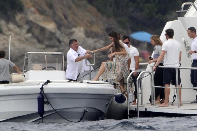 Photos : des vacances bien méritées pour la reine Rania de Jordanie !