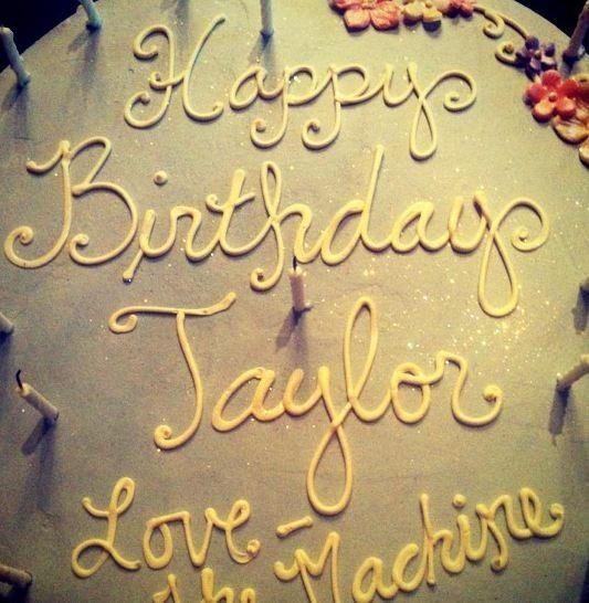 Joyeux anniversaire Taylor !