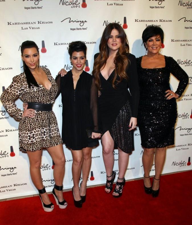 Et oui ! Ce sont bien les Kardashian !