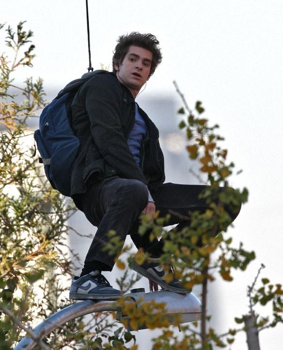 ...pour se prendre pour Spiderman !