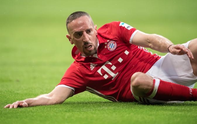 21 stars qui se sont converties à l'Islam : Franck Ribéry