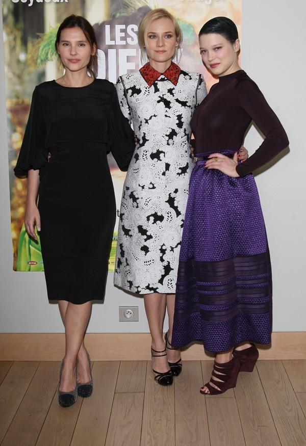 Le joli trio des Adieux à la Reine !