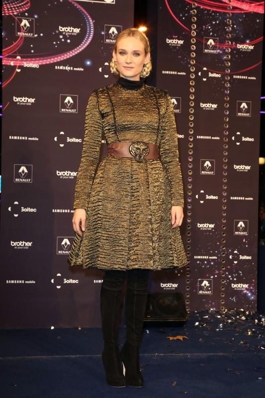 Diane Kruger le 21 novembre 2012 à Paris