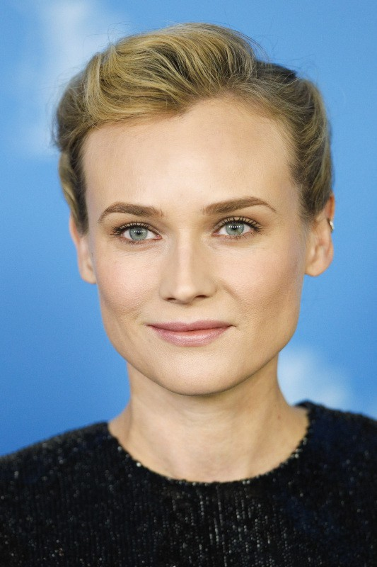 "Diane Kruger lors du photocall du film ""The Better Angels"" à Berlin, le 10 février 2014"