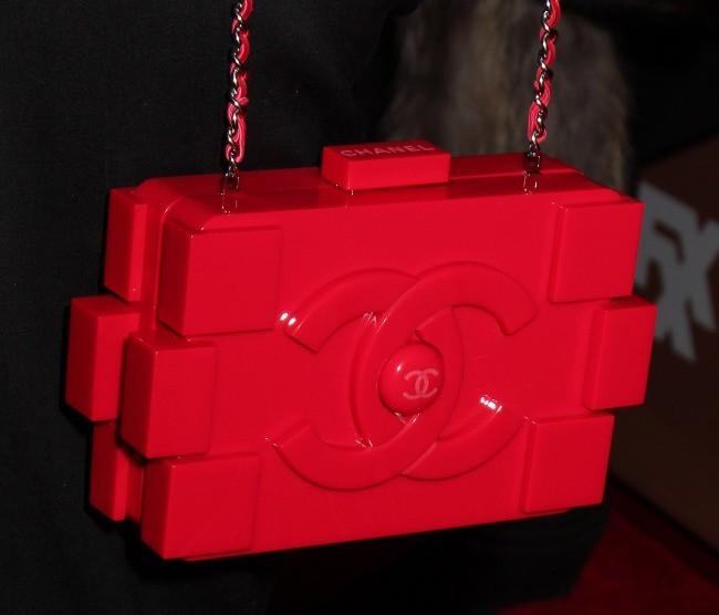 Le sac Lego Chanel de Diane Kruger.