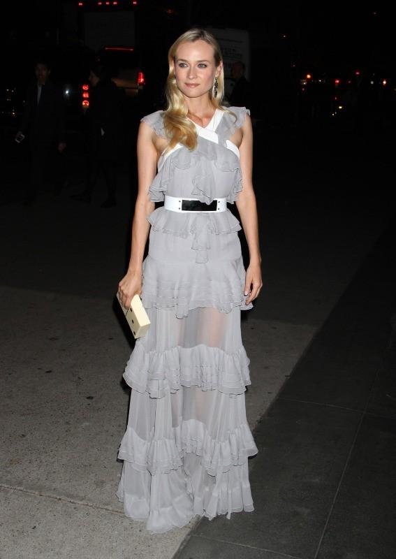 Diane Kruger le 3 décembre 2012 à New York