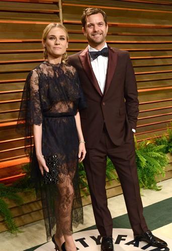 Diane Kruger et Joshua Jackson à Los Angeles le 2 mars 2014