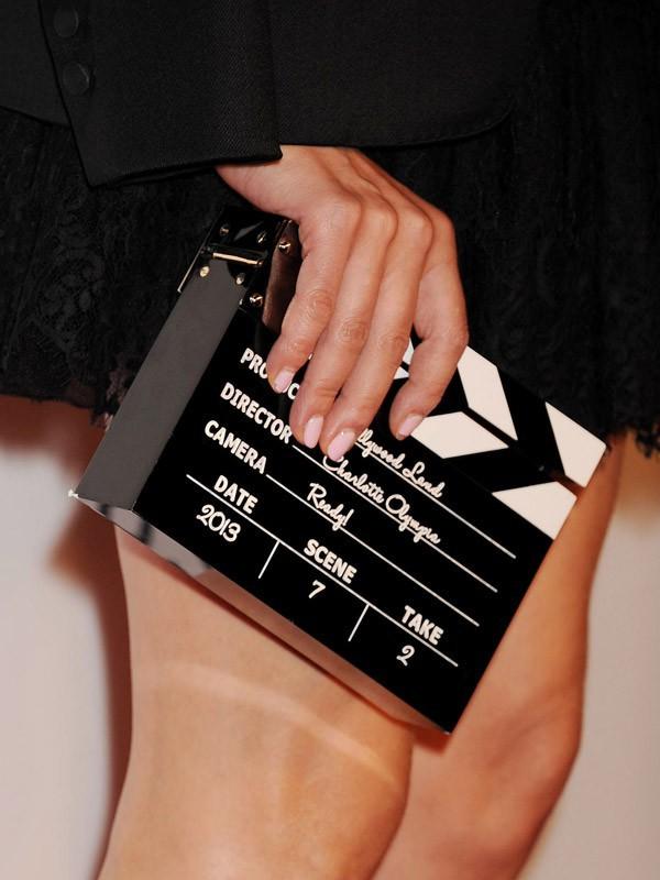 Le sac en forme de clap de Diane Kruger