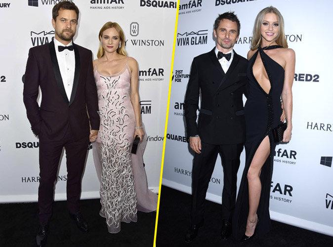 Photos : Diane Kruger et Joshua Jackson, Matt Bellamy et Elle Evans : duos glam' et sexy !