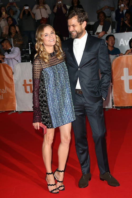 Photos : Diane Kruger et Joshua Jackson, toujours aussi complices et superbes !