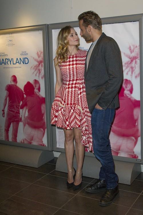 """Photos : Diane Kruger et Matthias Schoenhaerts, une """"équipe gagnante"""" à Paris !"""