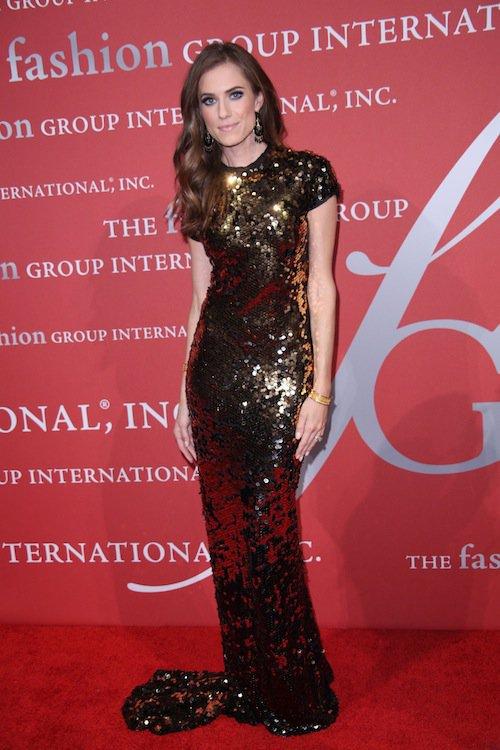 Allison Williams à la soirée Night of Stars Gala, à New York, le 22 octobre 2015