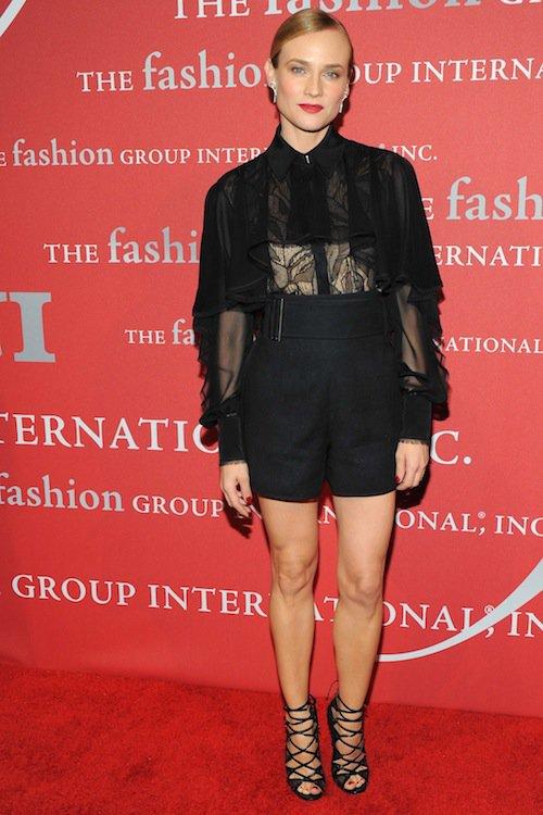 Diane Kruger à la soirée Night of Stars Gala, à New York, le 22 octobre 2015