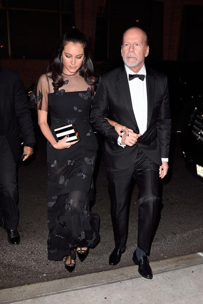 Bruce Willis et sa femme