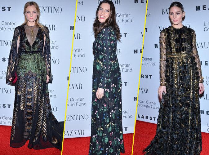 Photos : Diane Kruger, Liv Tailer, Olivia Palermo... toutes splendides au gala Valentino !