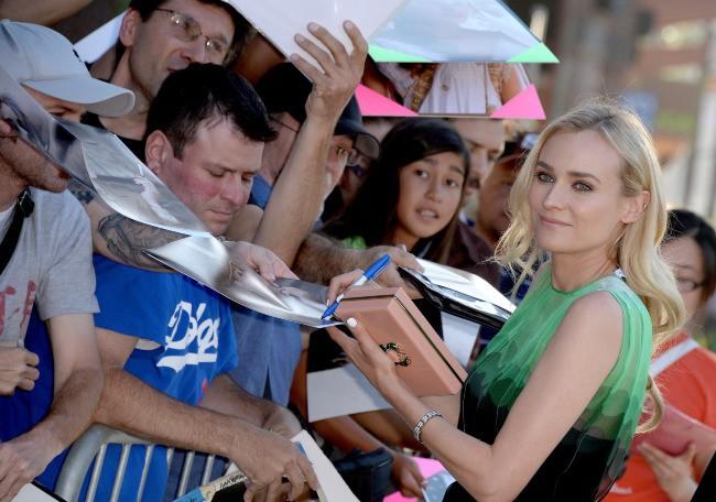 Diane Kruger le 8 juillet 2013 à Los Angeles