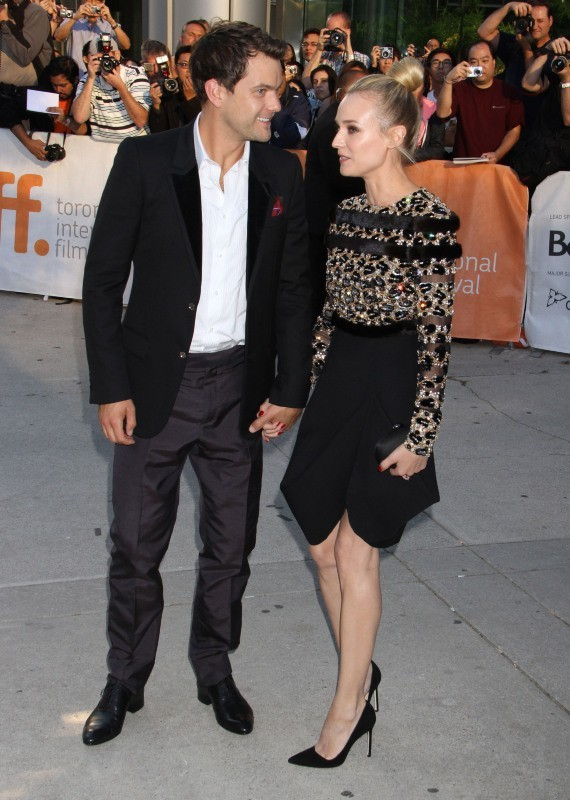 Joshua Jackson et Diane Kruger lors du Festival International du Film de Toronto, le 11 septembre 2012.