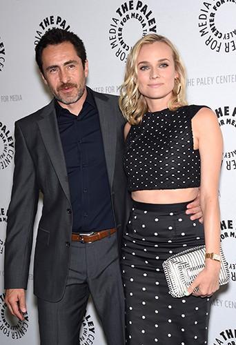 Demian Bichir et Diane Kruger à Los Angeles le 24 juin 2014