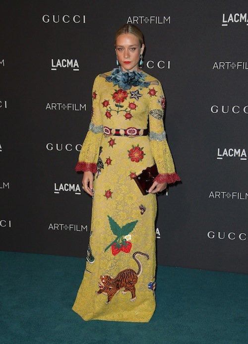 Chloë Sevigny au gala LACMA, à Los Angeles, le 7 novembre 2015 !