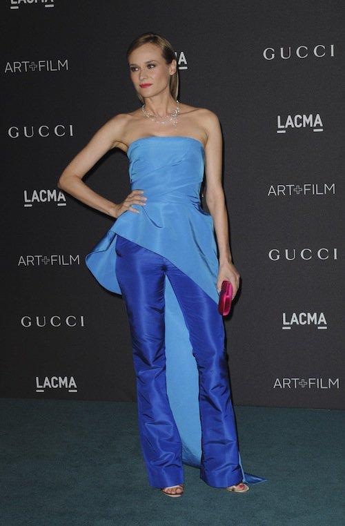 Diane Kruger au gala LACMA, à Los Angeles, le 7 novembre 2015 !