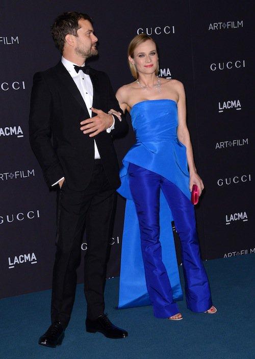 Diane Kruger et Joshua Jackson au gala LACMA, à Los Angeles, le 7 novembre 2015 !