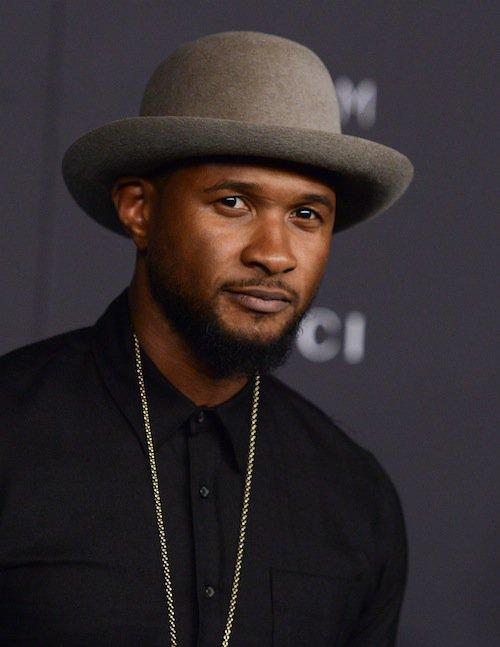 Usher au gala LACMA, à Los Angeles, le 7 novembre 2015 !