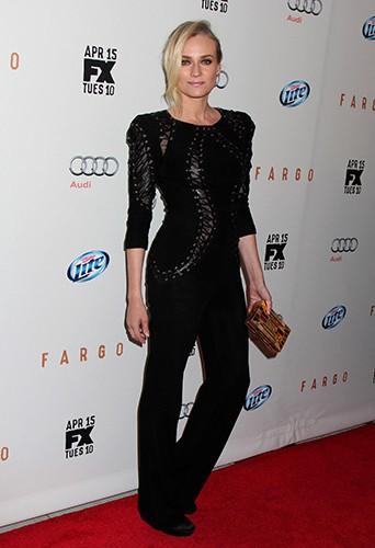 Diane Kruger à New York le 9 avril 2014