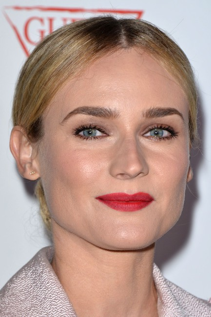 "Diane Kruger lors de l'événement ""Autism Awareness Third Annual Blue Jean Ball"" à Hollywood, le 24 octobre 2013."