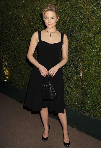 Dianna Agron à Los Angeles le 25 février 2014