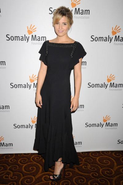 """Dianna Agron lors du gala de charité """"LIFE IS LOVE : Somaly Mam Foundation Gala"""", au Gotham Hall à New York, le 23 octobre 2013."""