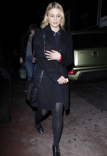 Dianna Agron à Los Angeles le 23 décembre 2013