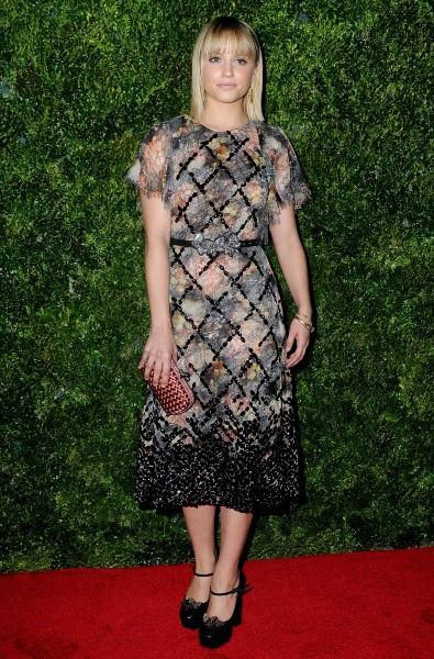 Dianna Agron le 4 décembre 2012 à New York