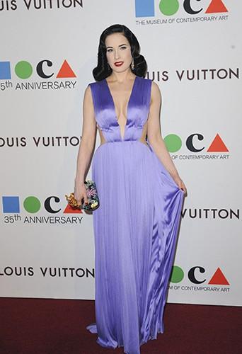 Dita Von Teese à Los Angeles le 29 mars 2014