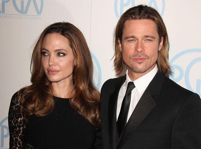 Photos : Divorce : Brad Pitt et Angelina Jolie viennent de passer un premier accord