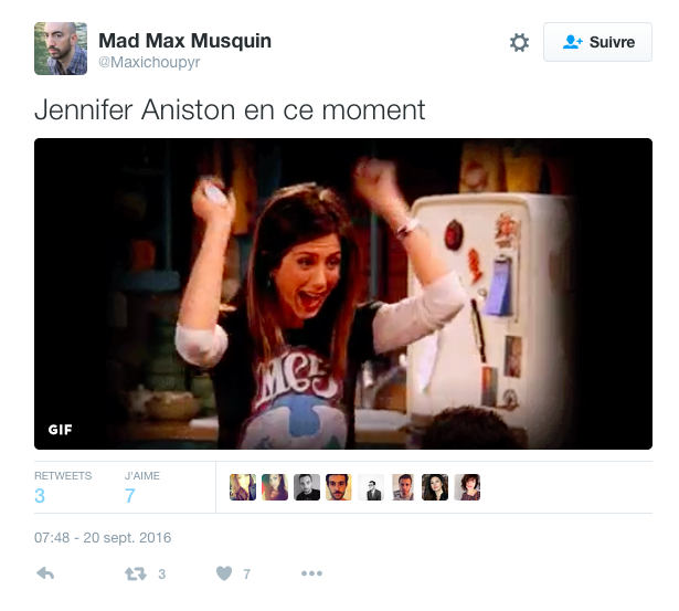 Photos : Divorce des Brangelina : les internautes imaginent la réaction de Jennifer Aniston !