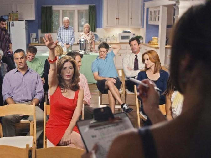 Dana Delany et Marcia Cross dans leurs rôles de Katherine Mayfair et Bree Van de Kamp