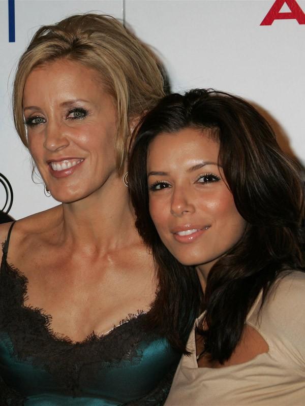 Felicity Huffman et Eva Longoria