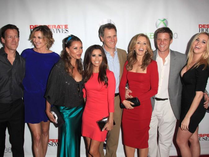 Le casting de Desperate Housewives avant la projection de l'ultime épisode