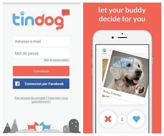 Sexy news : un chien vaut mieux que deux tu l'auras : l'appli Tindog sur tindog.co
