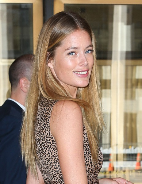 Doutzen Kroes à New York, le 4 septembre 2013.