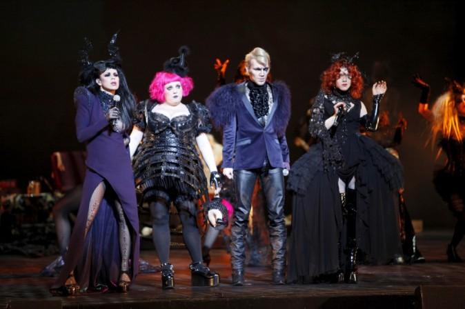 Présentation du nouveau spectacle de Kamel Ouali, Dracula Plus fort que la mort, au théâtre du Châtelet.